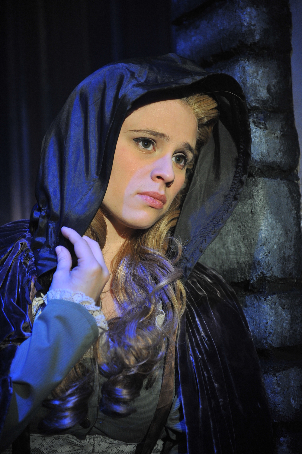 Fantine in Les Miserables at Sierra Repertory Theatre Photo Credit: Sierra Rep and Rich Miller