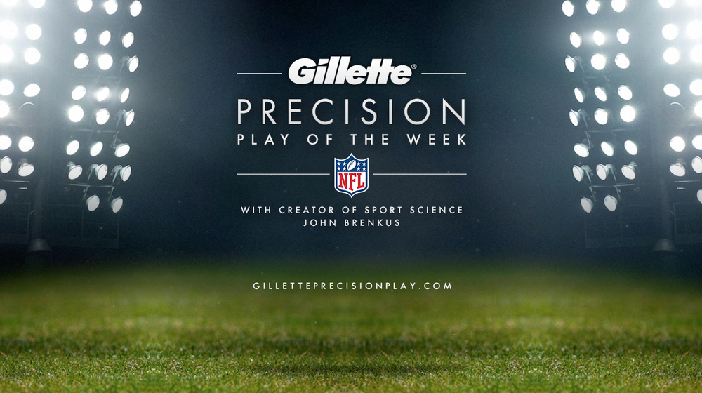 Gillette/NFL motion and design for Possible and Grey Advertising, Fall 2013