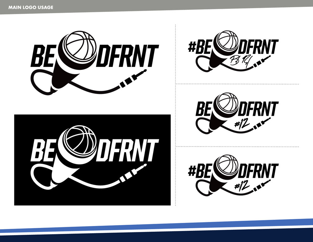 BeDFRNT Secondary Logos