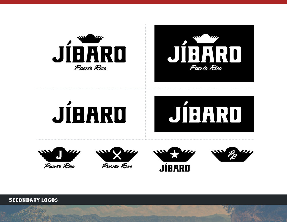 Jibaro Secondary Logos