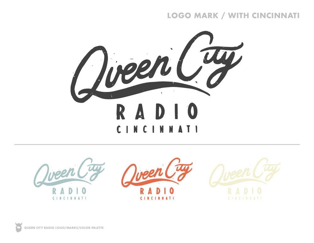 Queen City Radio Secondary Logos