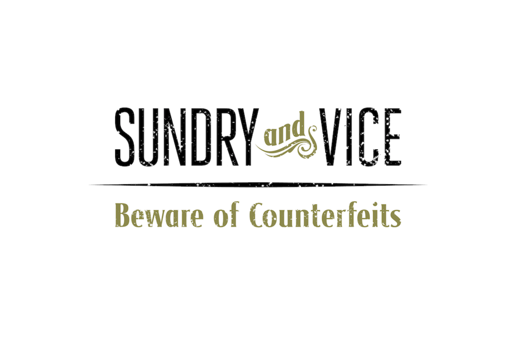 Sundry & Vice Logo & Type