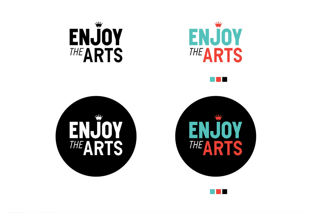 Enjoy the Arts Main Logo Treatment