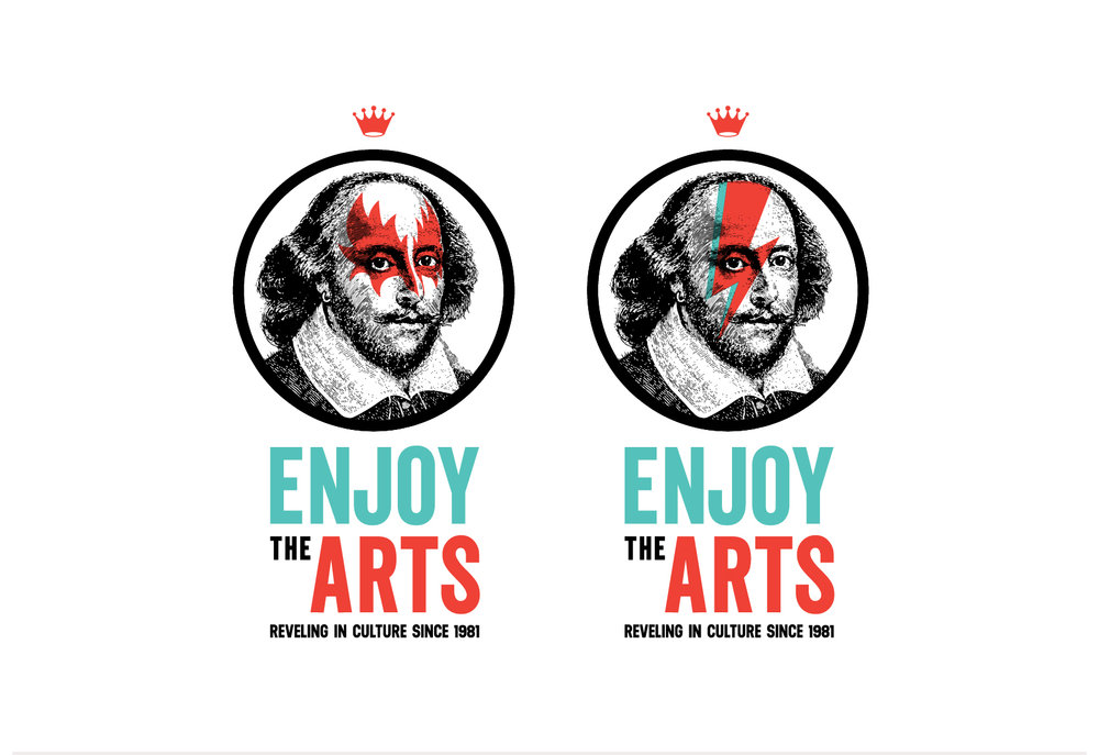 Enjoy the Arts Secondary Logos