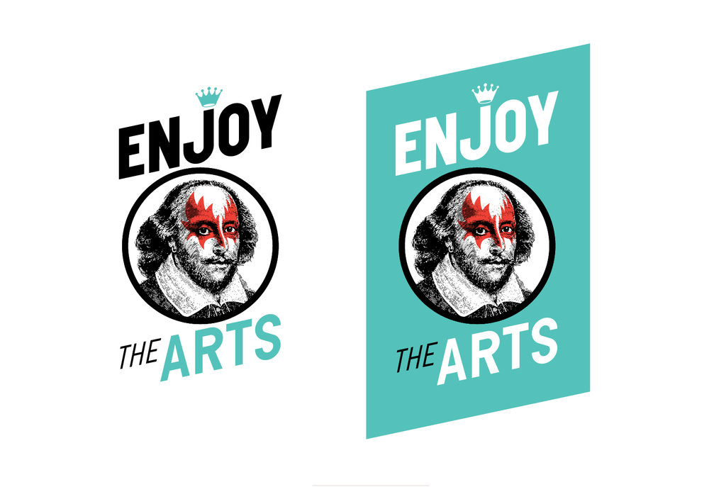 Enjoy the Arts Play Cards