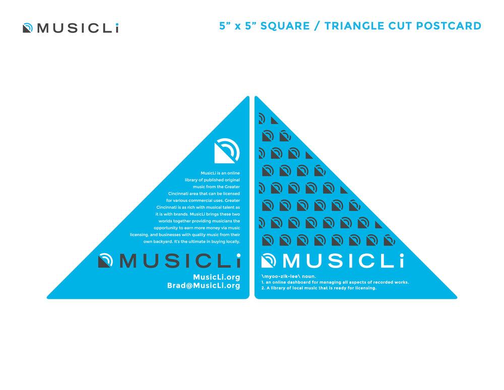 MusicLi Postcard
