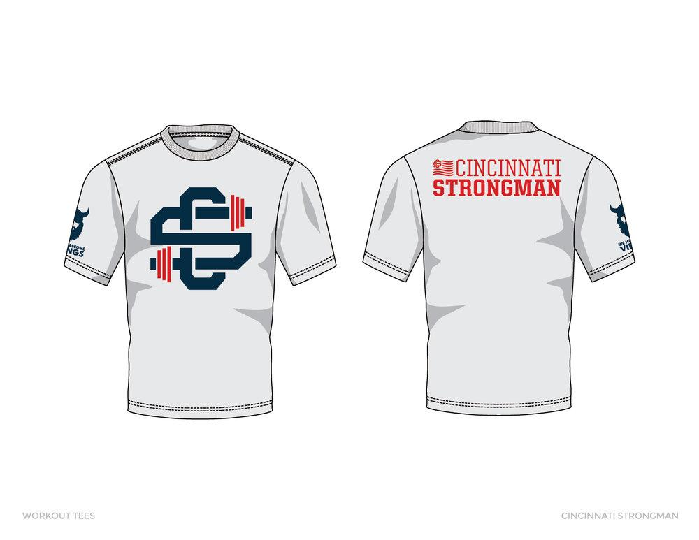 Cincinnati Strongman Tees