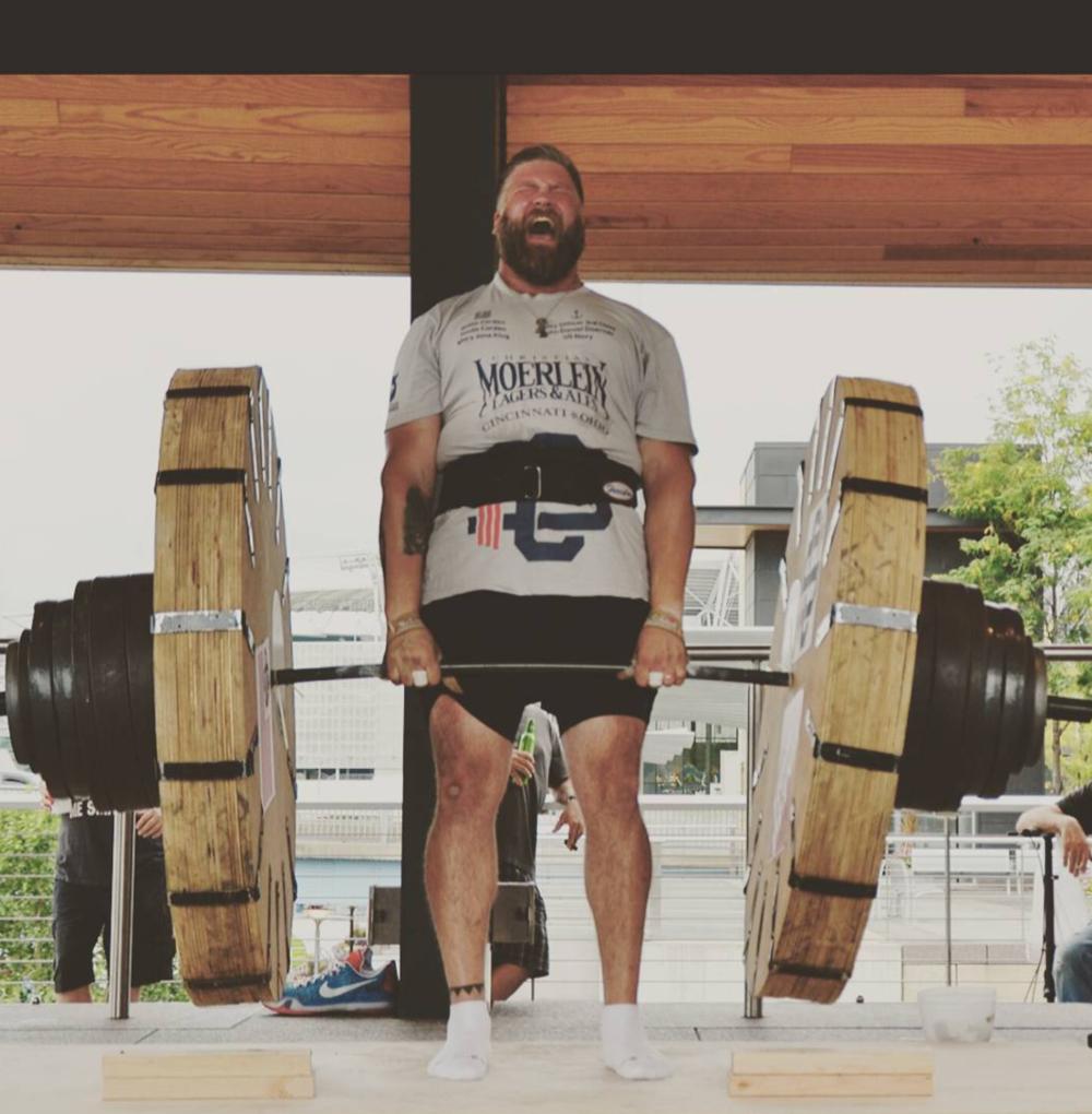 Sean McCarthy, the new Cincinnati Strongman