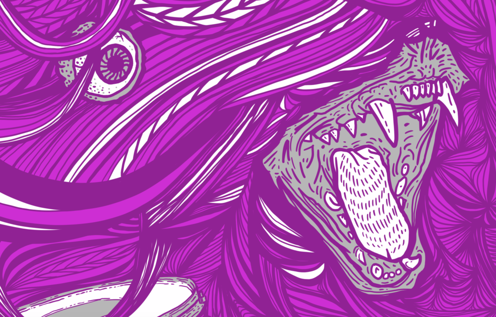 Dinosaur Jr Poster, Work-in-Process