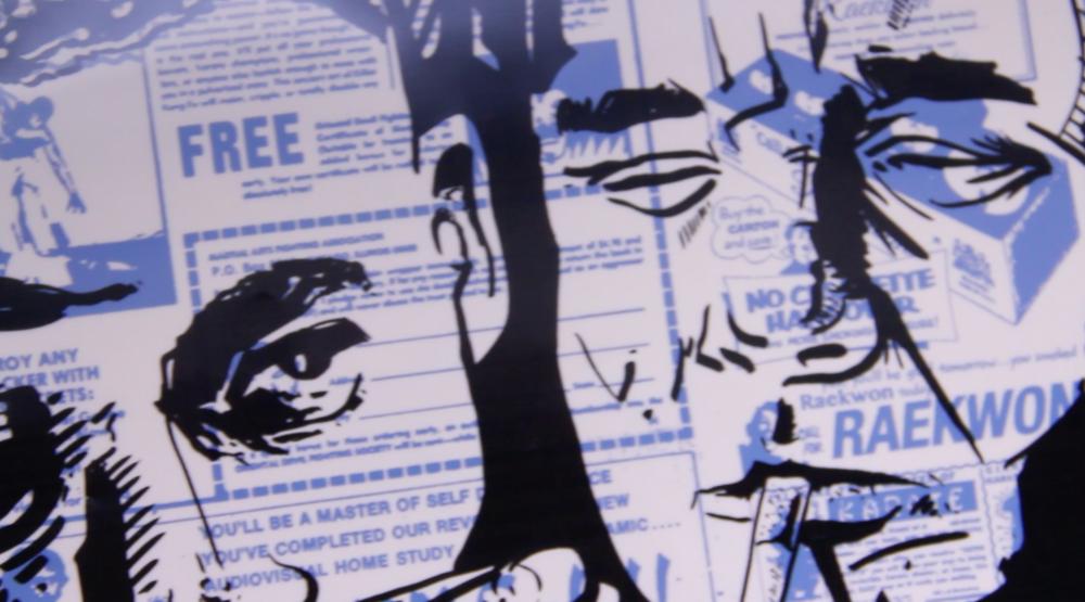 Illustration, black keyline films