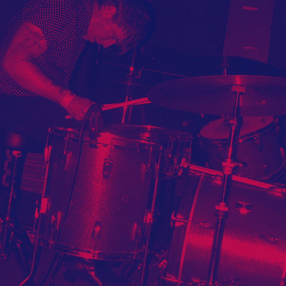 Solodad Brother's Ben Swank crushing the drums