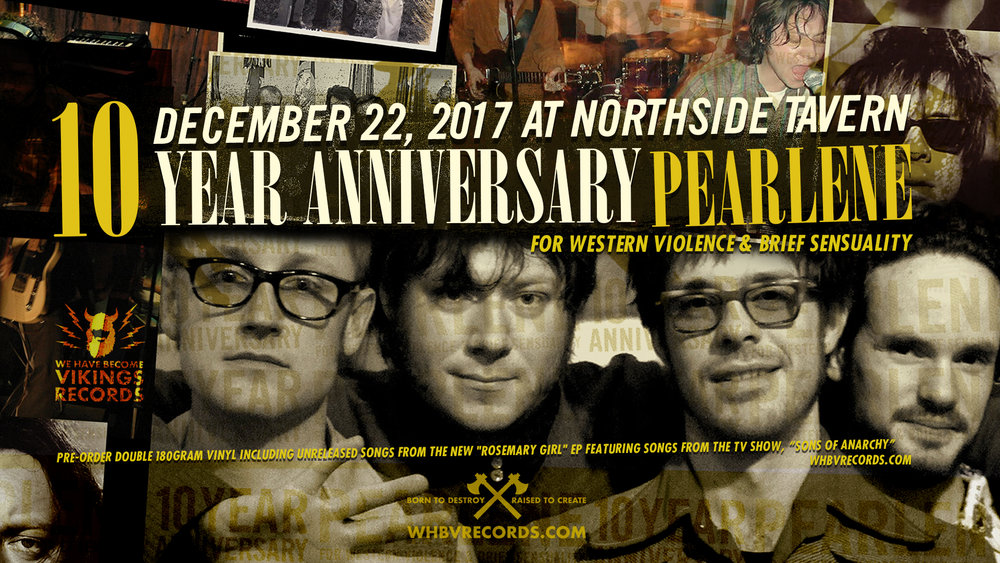 "Pearlene, ""For Western Violence and Brief Sensuality,"" Release Show at Northside Tavern December 22, 2017"
