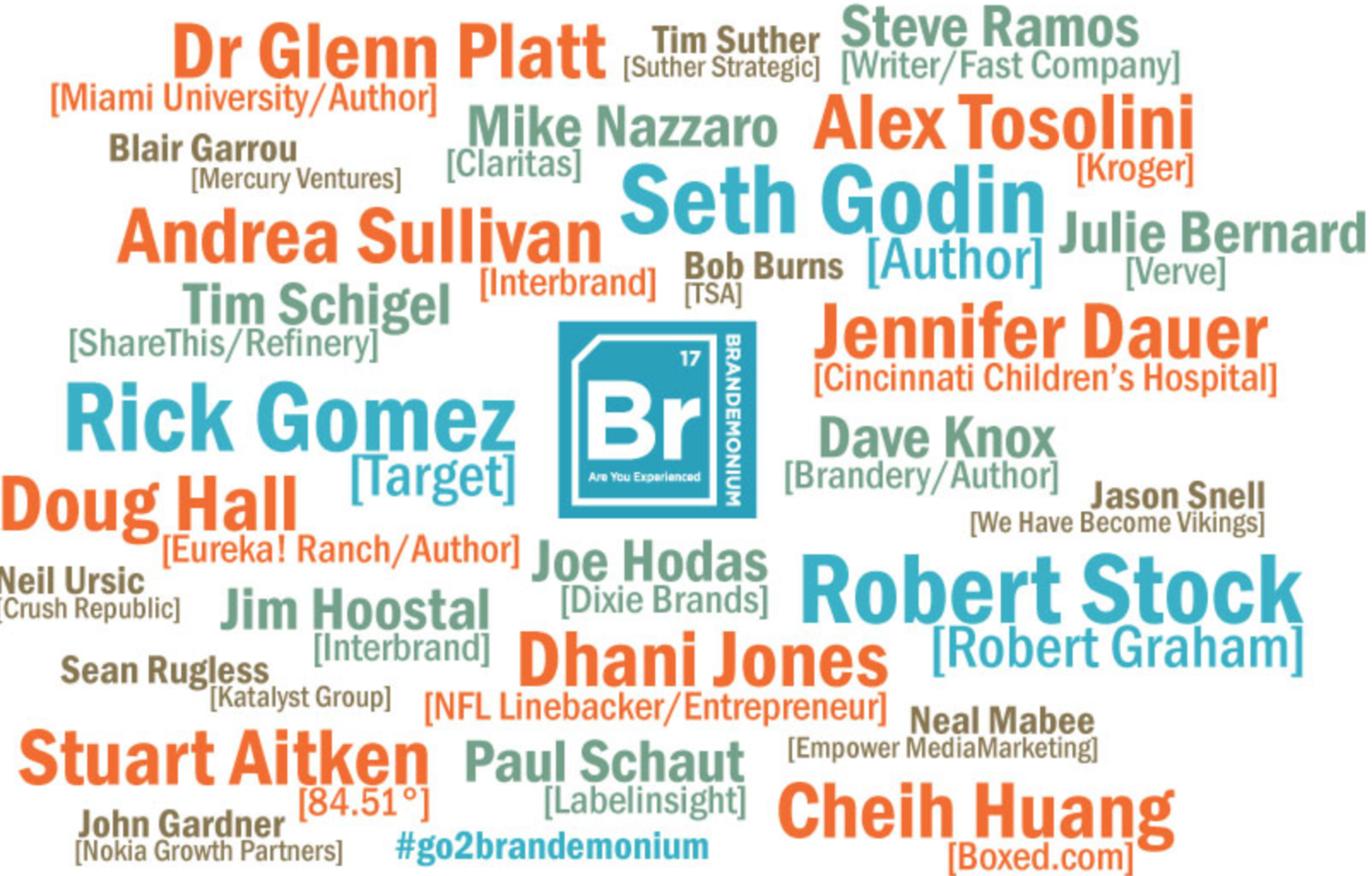 Check it out, we're speaking at Brandemonium! October 11-14th — We