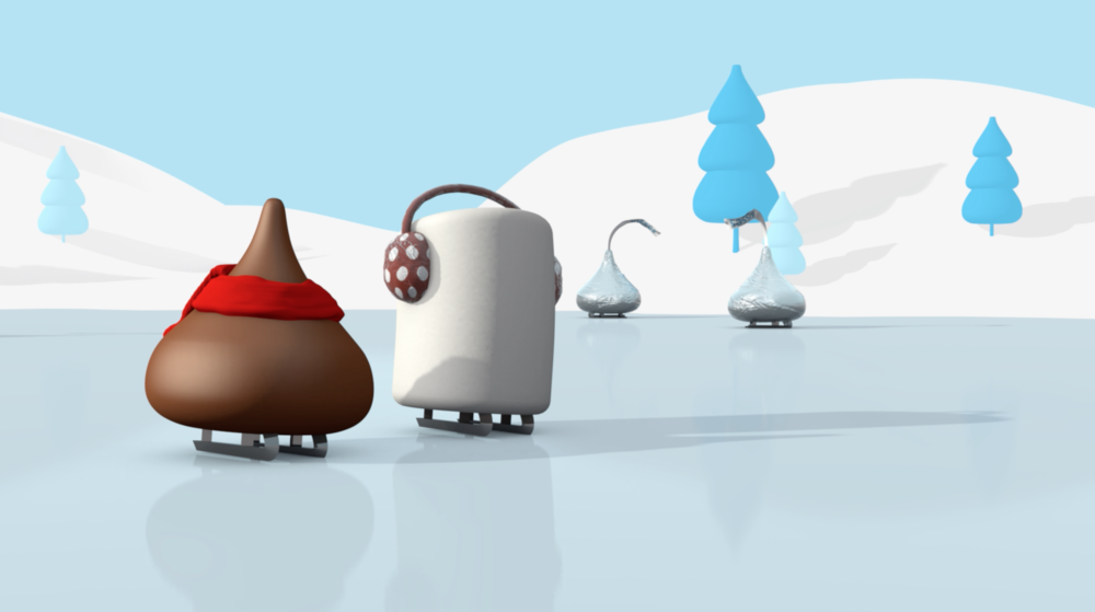 Fun collaboration with goDutch & Hershey's Kisses new Cocoa flavor.