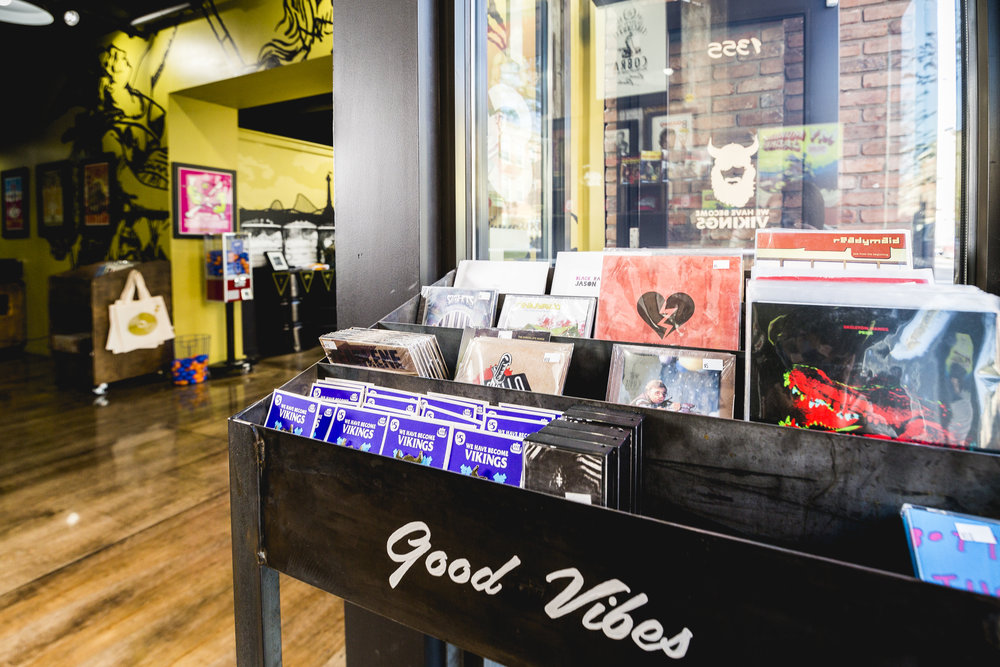 Good Vibes! A look into our 1355 Walnut Studio Retail Space.