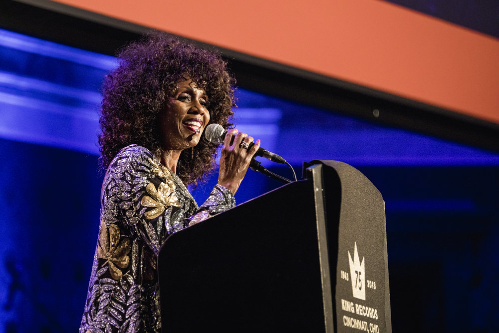 Patti Collins of The Bootsy Collins Foundation.
