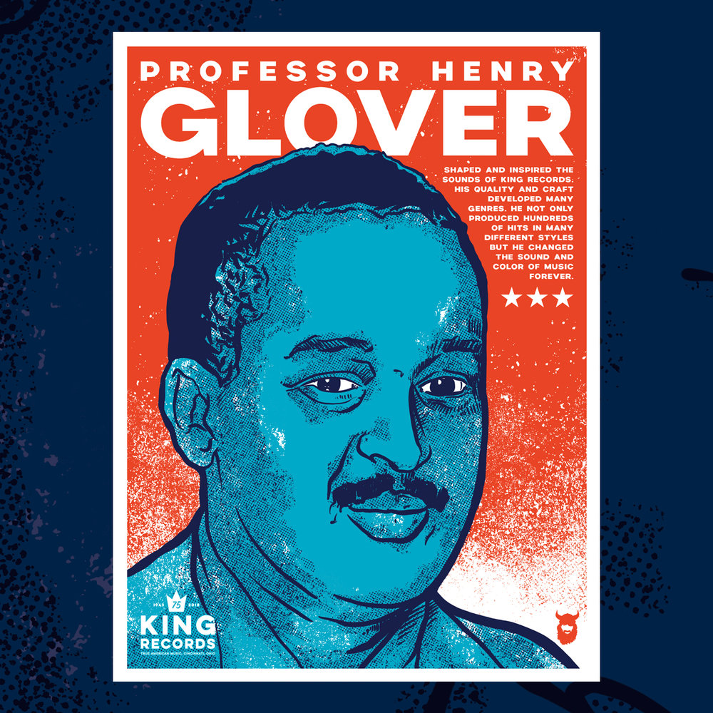 Henry Glover, King Records 75th Poster Series