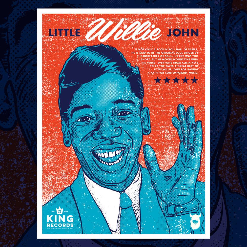 Little Willie John, King Records 75th Poster Series