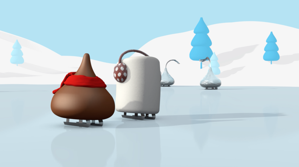 Hershey's Kisses Cocoa Animations