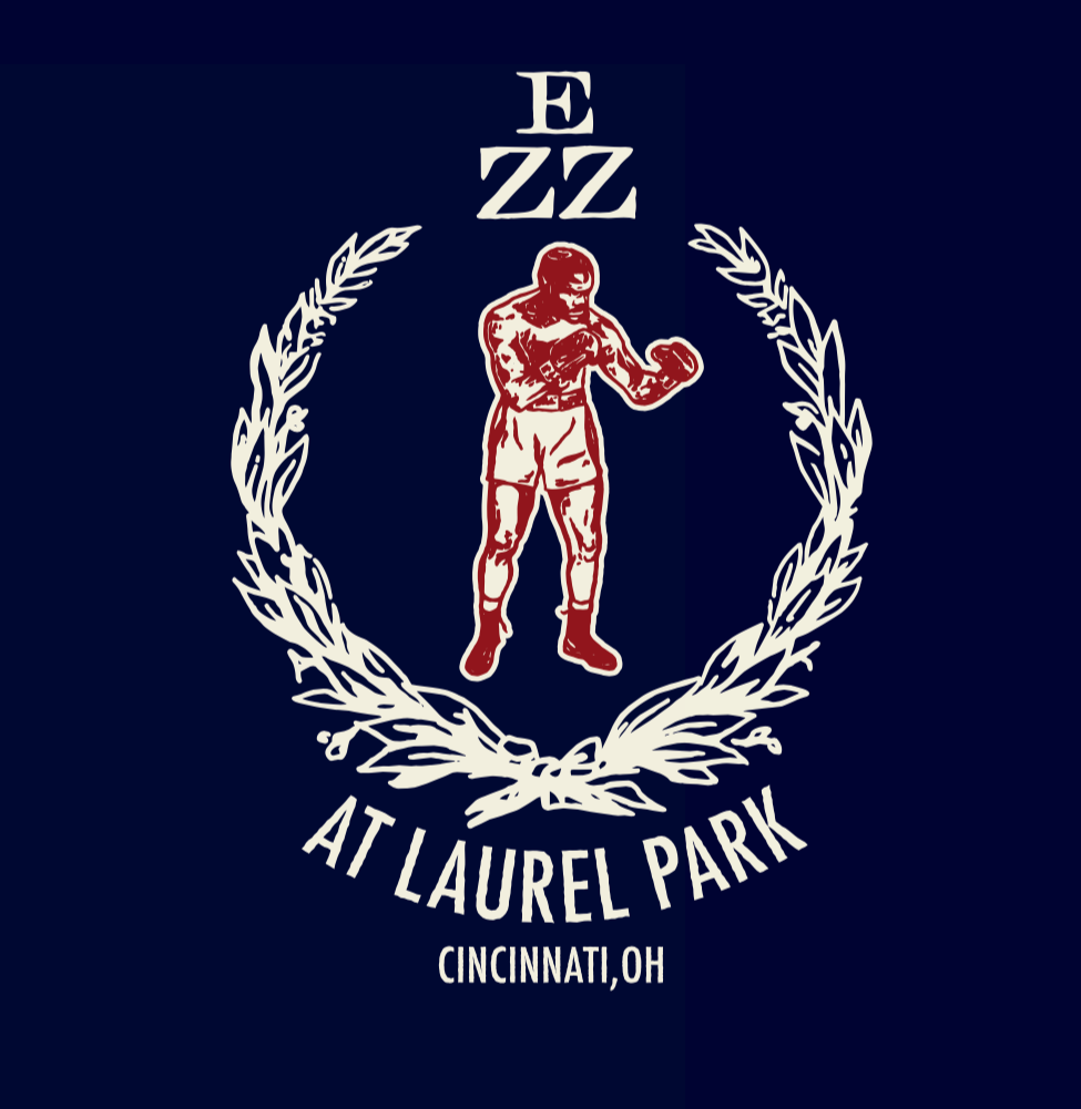 Ezzard Charles at Laurel Park, brand mark