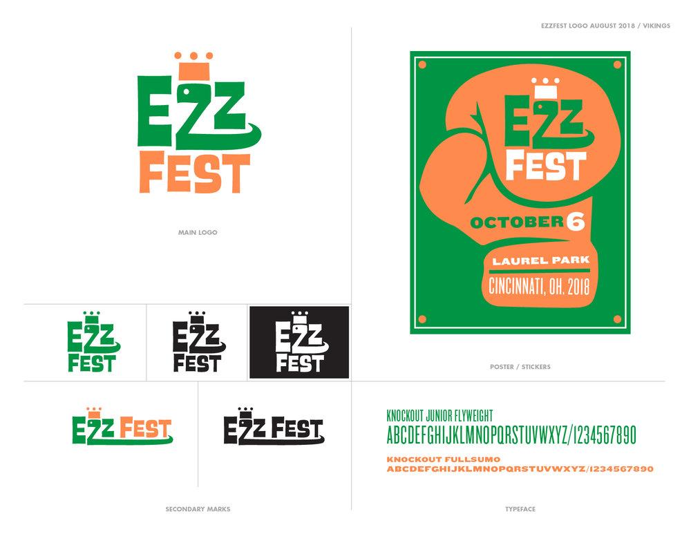 Ezz Fest 2018 Identity