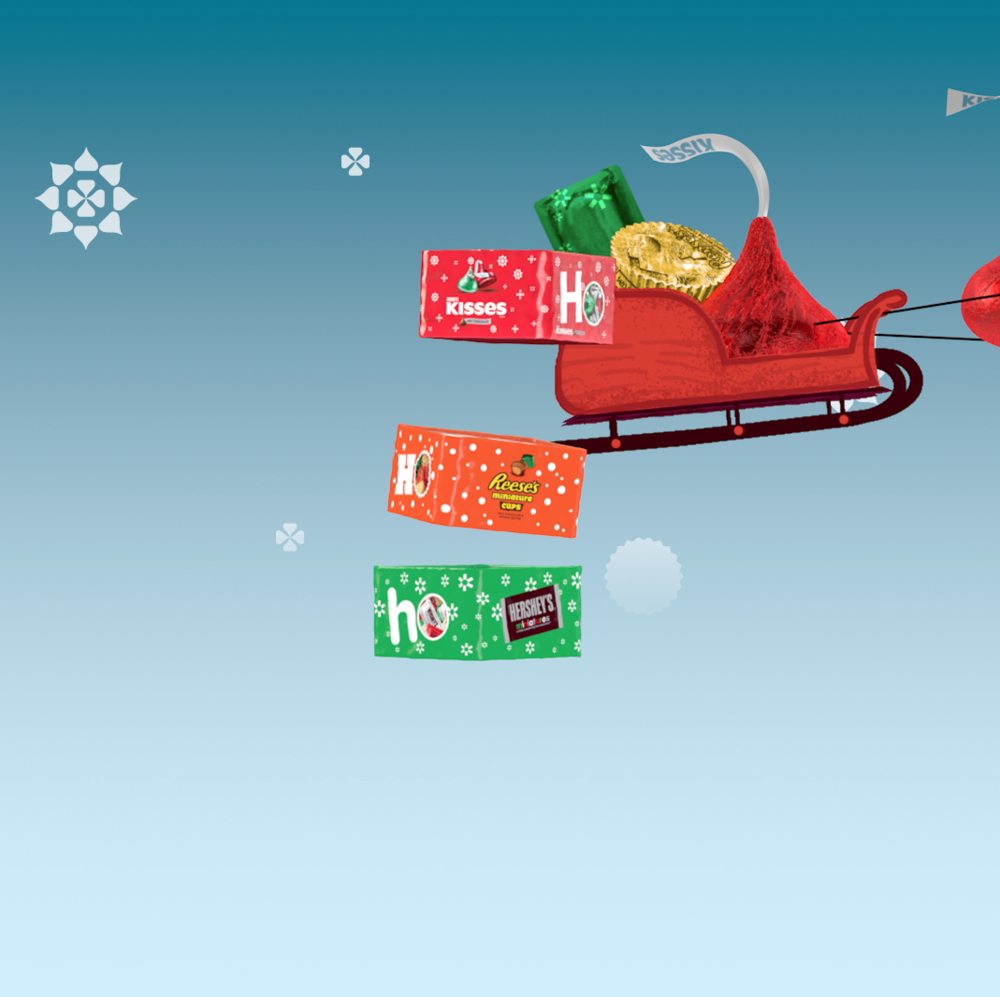 Holiday social media spots featuring new packages