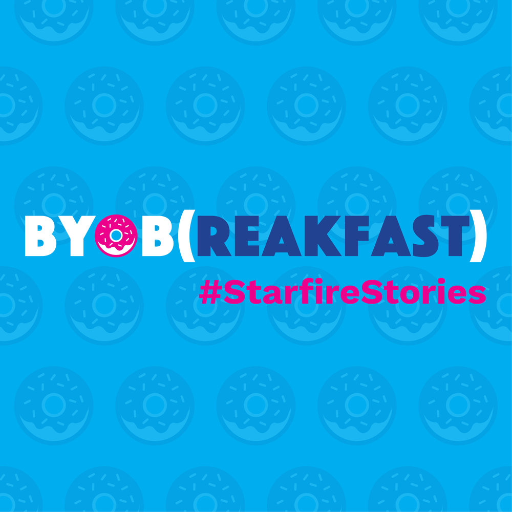 BYOB(reakfast) brand identity and digital design