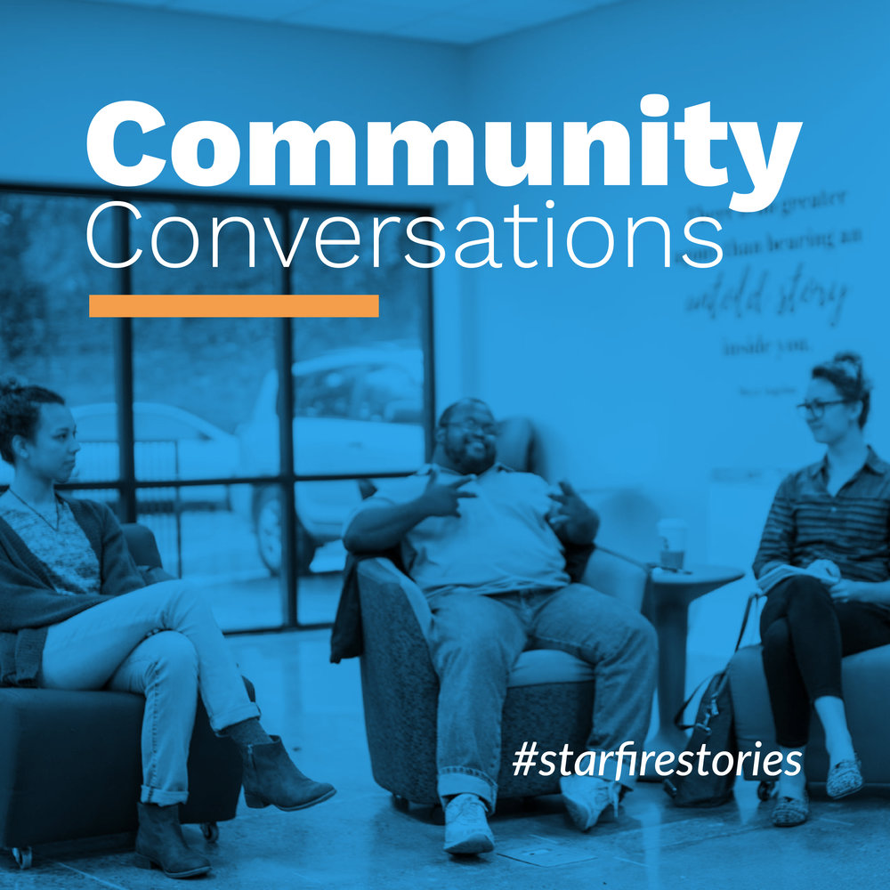 Community Conversations design collateral
