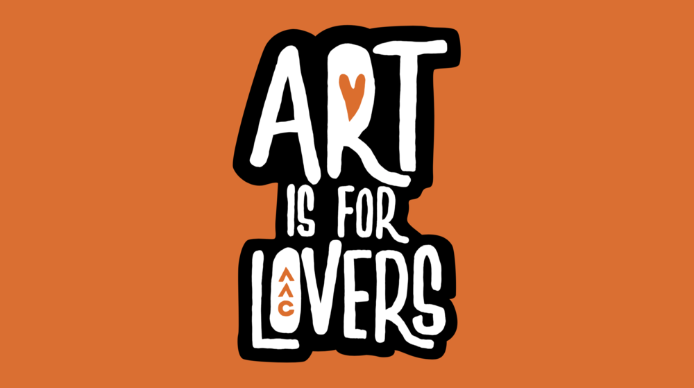 """Concept & messaging, """"Art is for Lovers"""" in the heart of Over-the-Rhine, Cincinnati"""