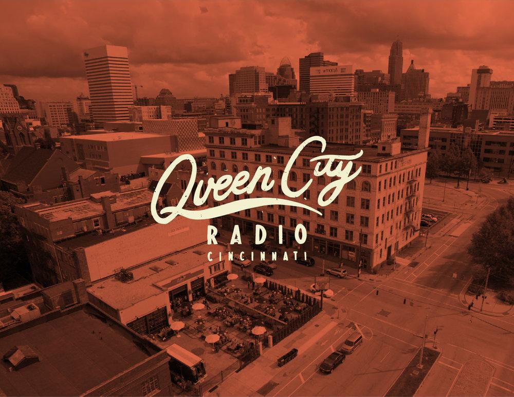 Queen City Radio, brand identity