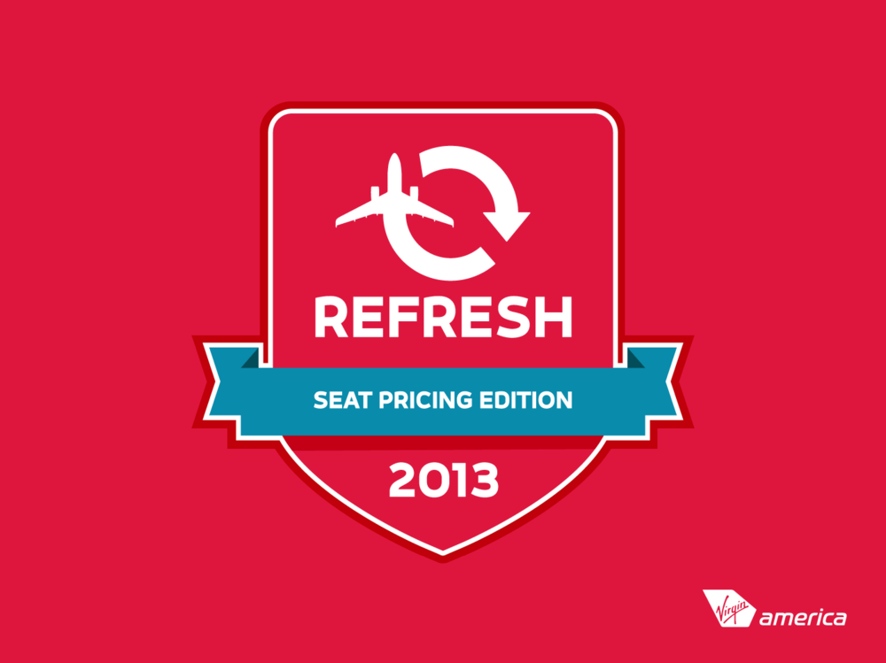 Refresh Seat Pricing iPad Game