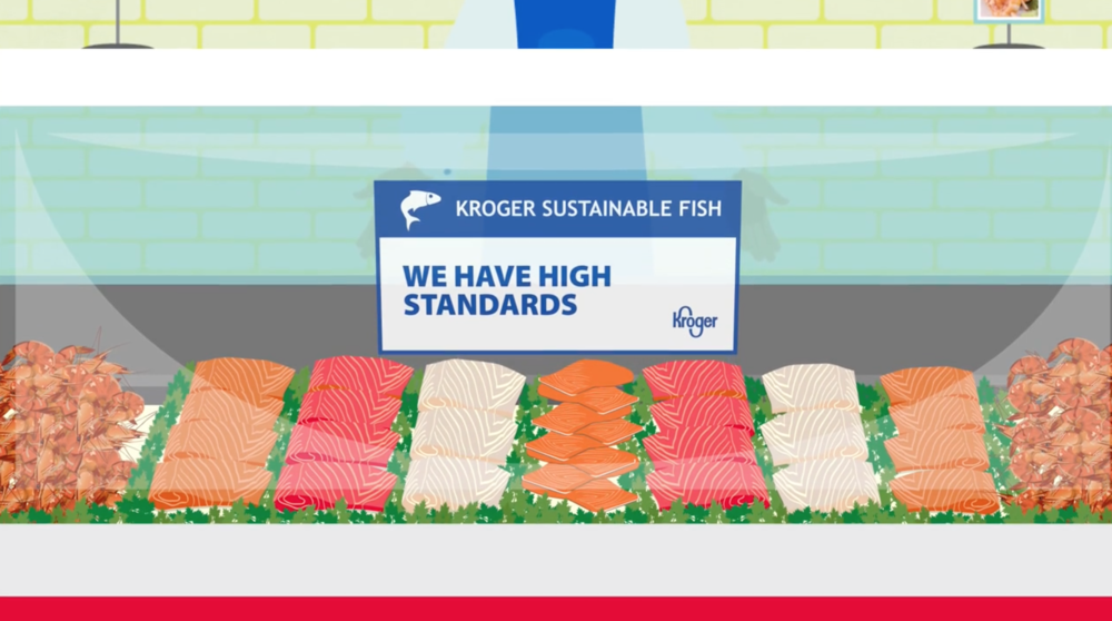 Kroger Sustainable Fish Deli