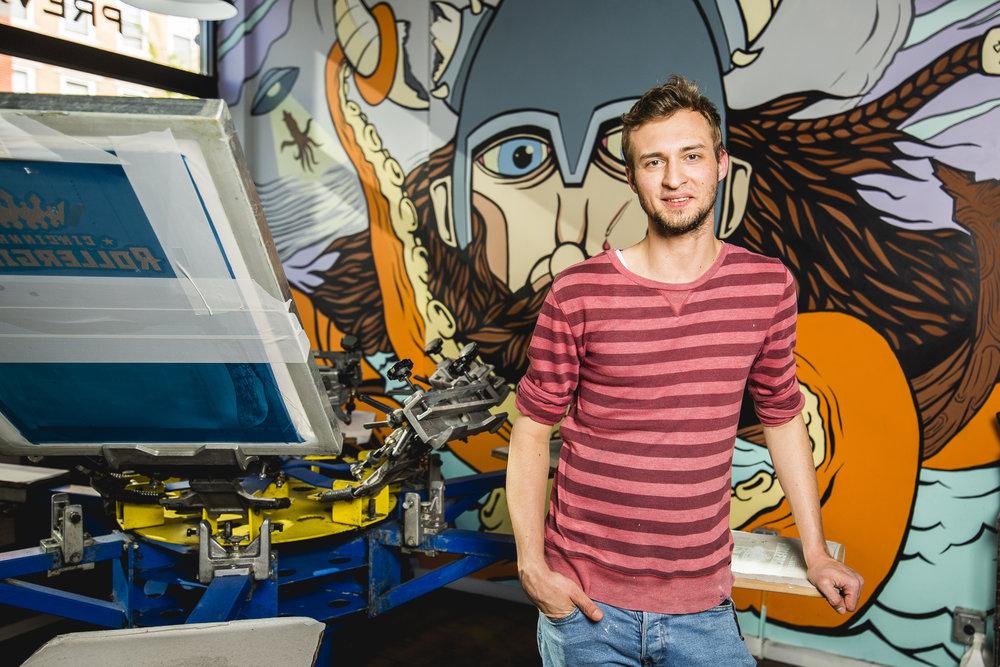 Matt Dorman, Print Manager