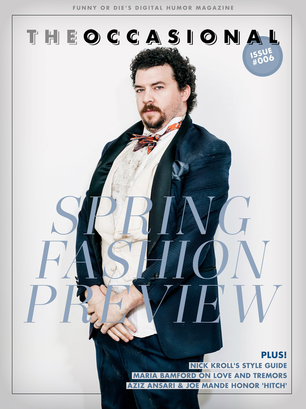 Spring Fashion Issue featuring Danny McBride