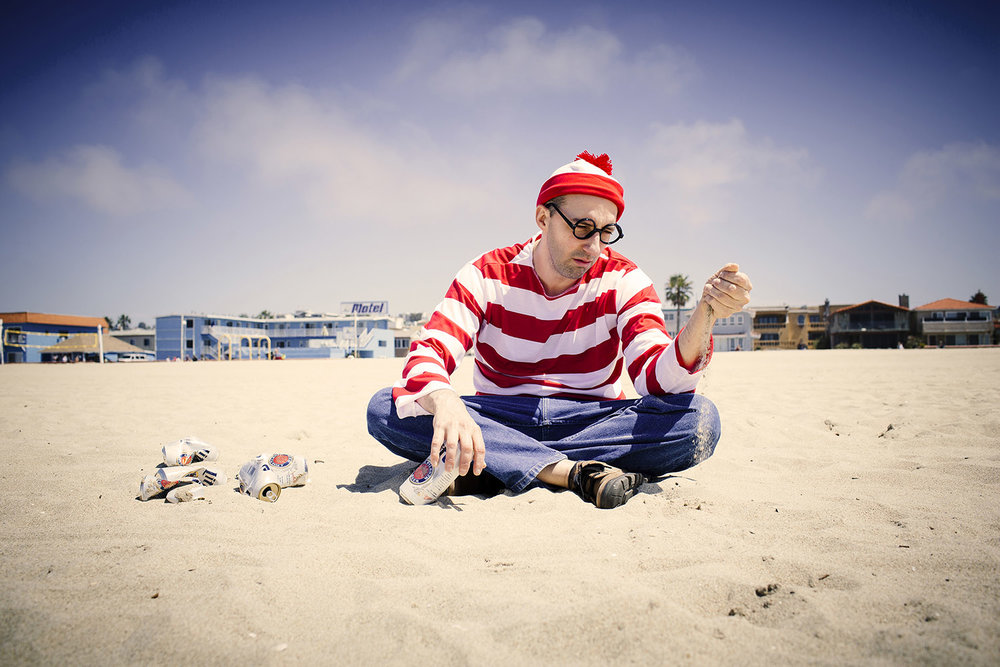 Where's Waldo featuring Tony Hale for Funny or Die