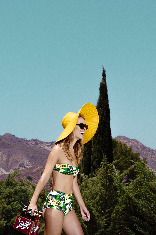Schlitz Social Media Campaign featuring Olivia Jordan