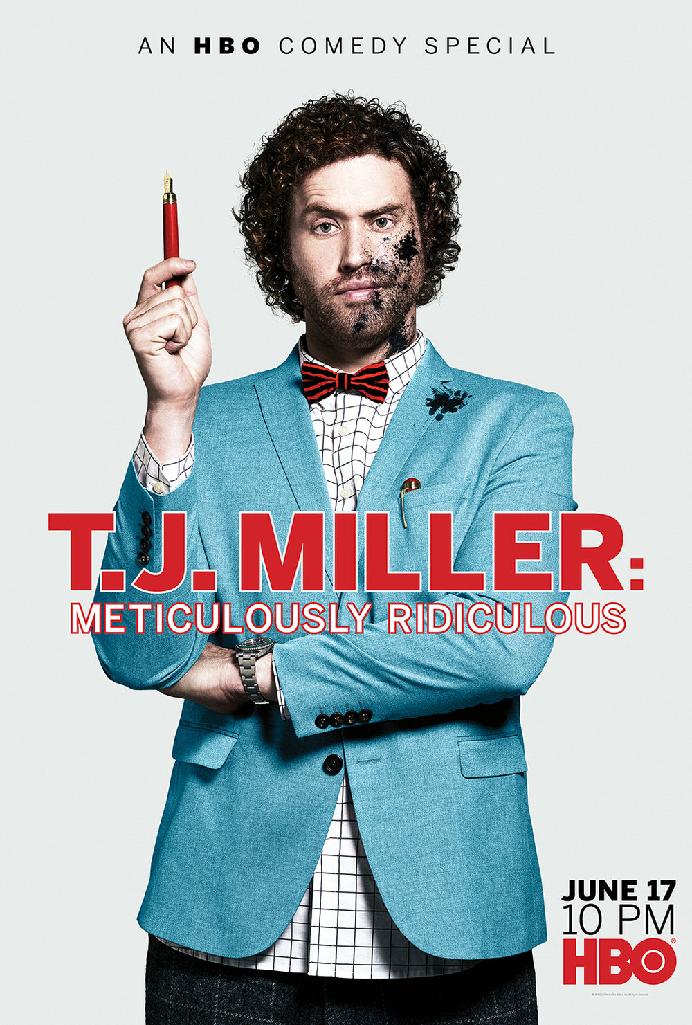 HBO Comedy Speical Meticulously Ridiculous by TJ Miller and HBO