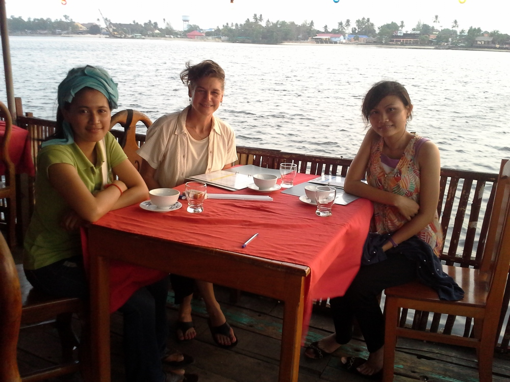 Research Team in Koh Kong