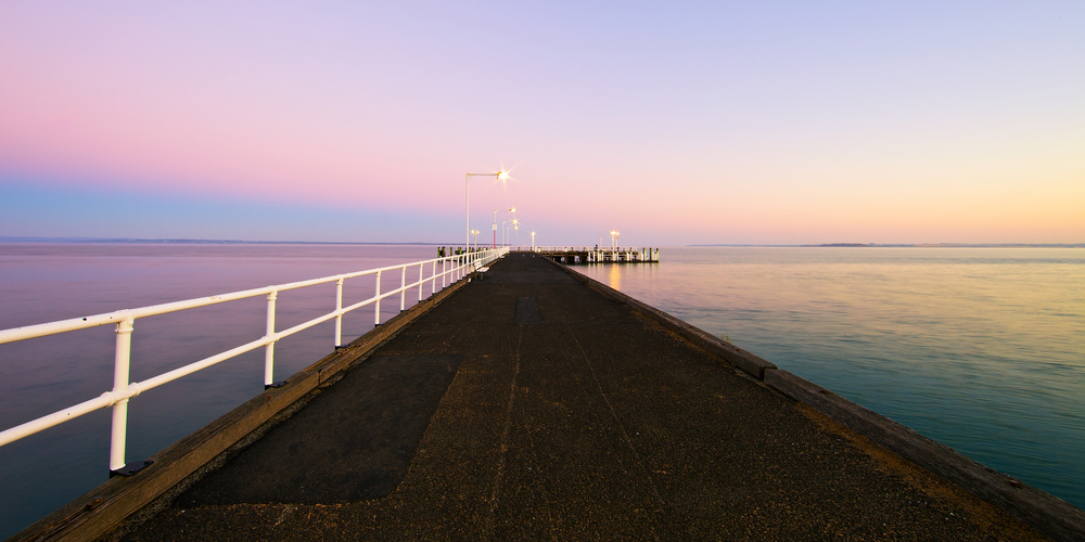 sunrise, jetty.  Cowes, Phillip Island.jpg