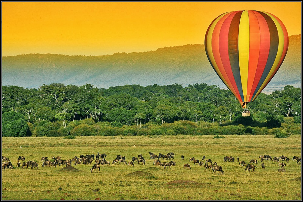Hot Air Balloon Ride in Kenya