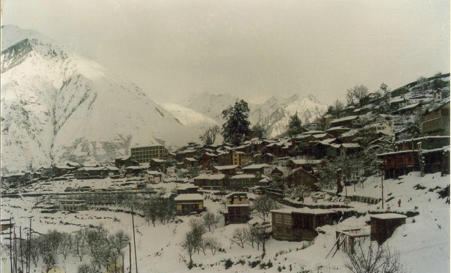 Winters in Bharmour