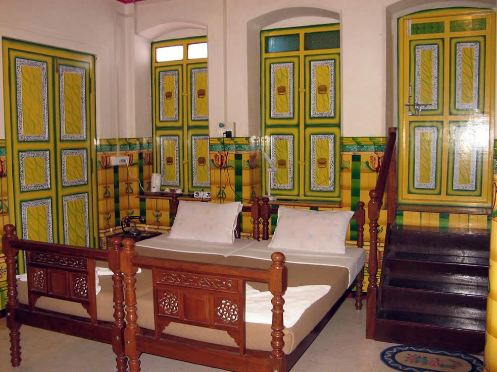 Spacious traditional style rooms