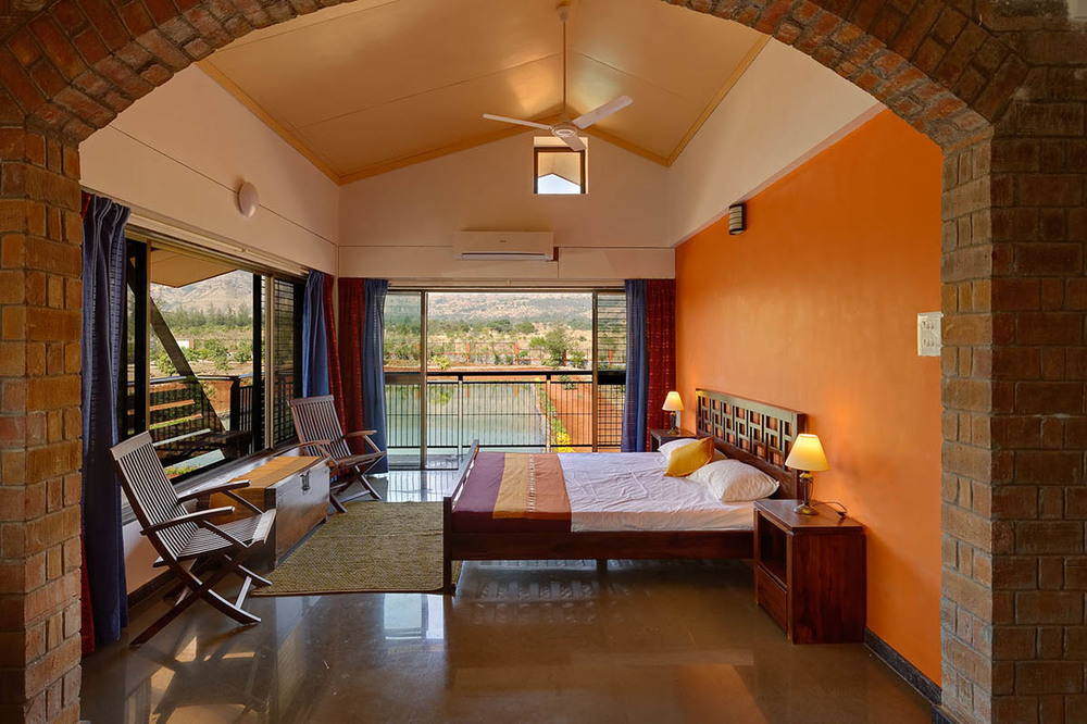 Deluxe room at the Ark Wellness Retreat