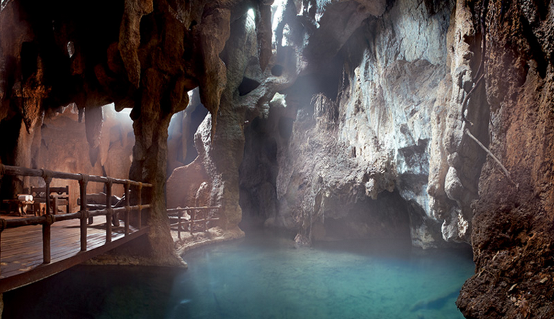Therma Steam Cave  at the Banjara Hotspring Retreat