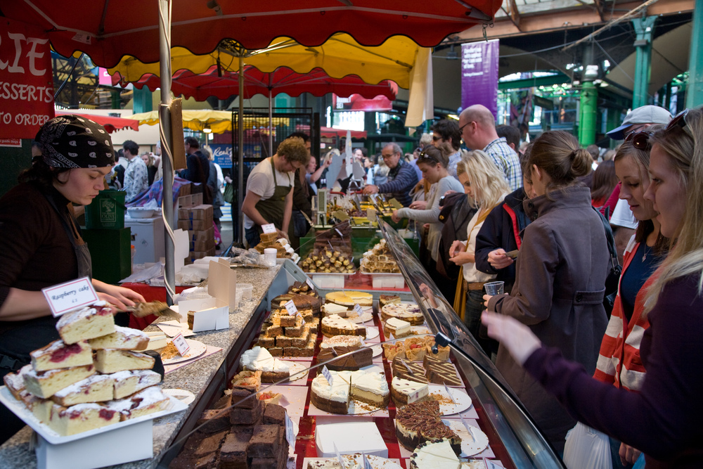 Borough Market Image Credit: Wikipedia