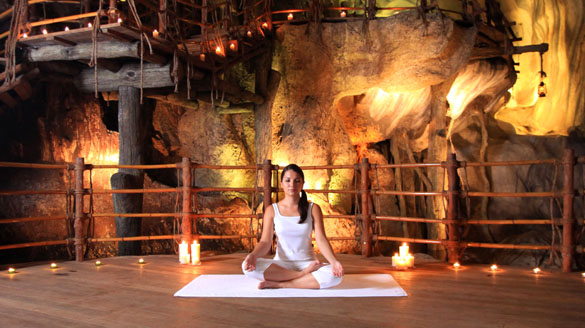 Meditation Cave, Banjaran Image Credit: Banjaran Hot Spring Retreat