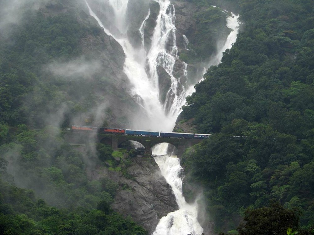 Sea of Milk, Dudhsagar Falls Image Credit: Bhramanti365