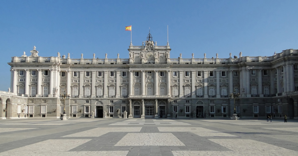 Image: Royal palace, Madrid       Image Credit: openbuildings.com