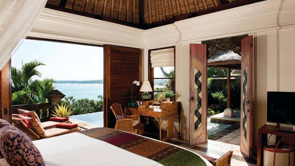 Ocean View Deluxe Room Image Credit: Four Seasons at Jimbaran Bay