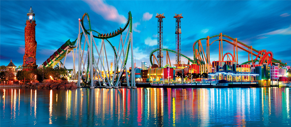 Island of Adventures at Universal Studios, Orlando Image Credit: Vacationpassage.com
